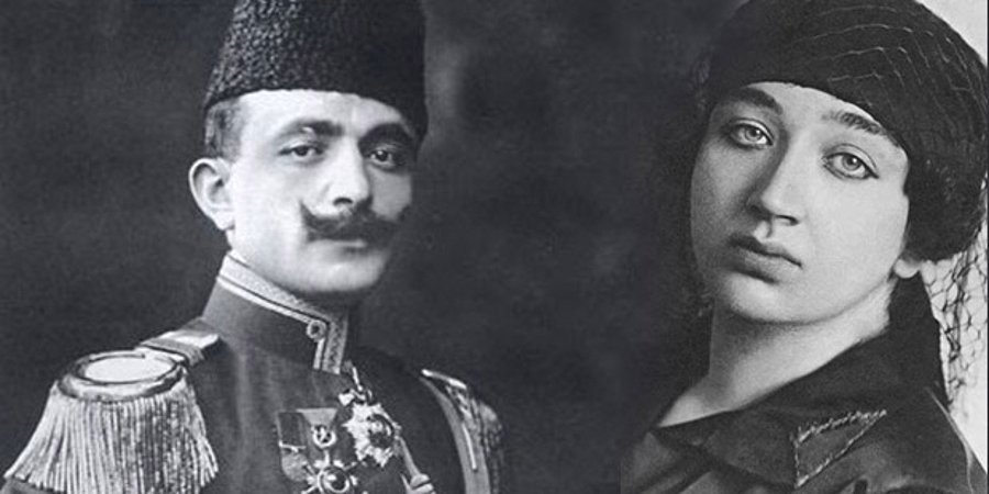 enver paşa naciye sultan