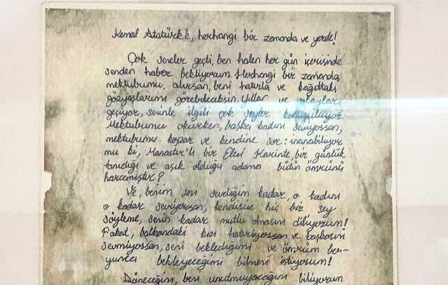 eleni hanımın atatürke aşk mektubu