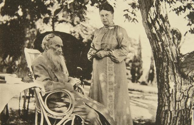 tolstoy ve eşi sophia